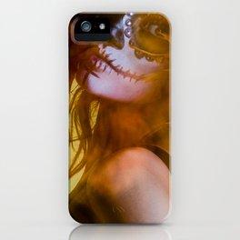 Dreamy SugarSkull iPhone Case