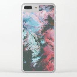 static wind 02 Clear iPhone Case