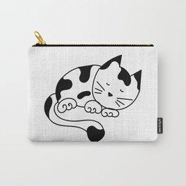 Sleeping Kitten Carry-All Pouch