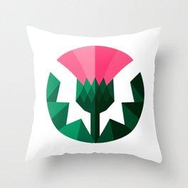 Thistle 3D Throw Pillow