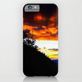Imp Sunset iPhone Case