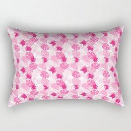 flamingo day off Rectangular Pillow