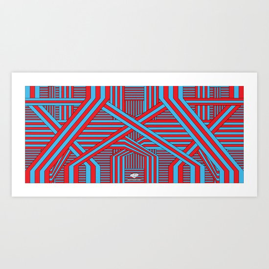 Infrastructure (Special Edition) Art Print