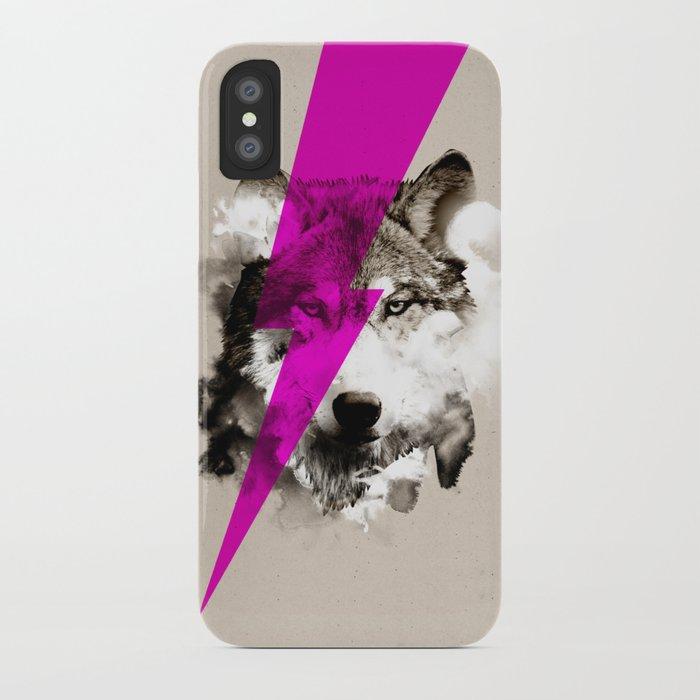 Wolf Rocks iPhone Case