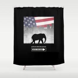 Vote This Way Shower Curtain