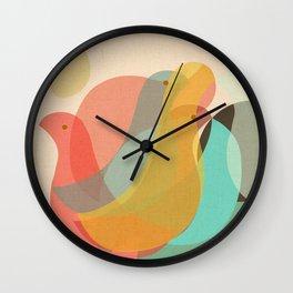 Birds Reunion Wall Clock