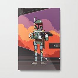 EP5 : Boba Fett Metal Print