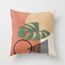 Nature Geometry I Throw Pillow