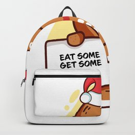 Gingerbread Matching Group Eat Some Get Some Backpack