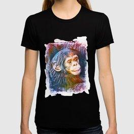 Cute Chimpanzee Baby T-shirt