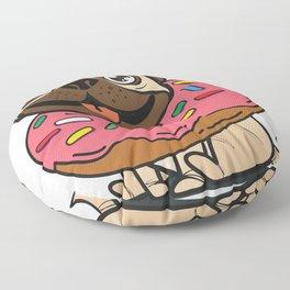 Pug & Donut Floor Pillow