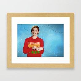 xmas watson Framed Art Print