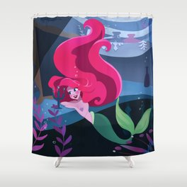 Ariel's grotto Shower Curtain