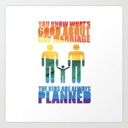 LGBT Parenting 2 Art Print