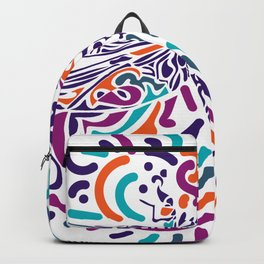 Colorful Fly Backpack