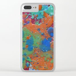 Splat That Clear iPhone Case