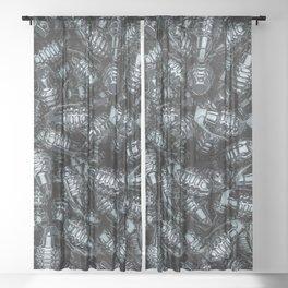 Grenades Sheer Curtain
