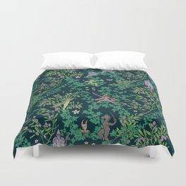 Bird Kingdom Floral Duvet Cover