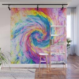 digital tie dye 15 Wall Mural