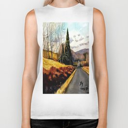 The Country Road Biker Tank