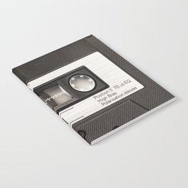 Cassette Tape Black And White #decor #society6 #buyart Notebook