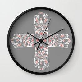 Pocatiki Tribe Wall Clock