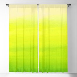 Lemon Lime Blackout Curtain
