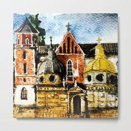 Wawel Metal Print