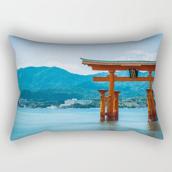 Miyajima Floating Gate Rectangular Pillow