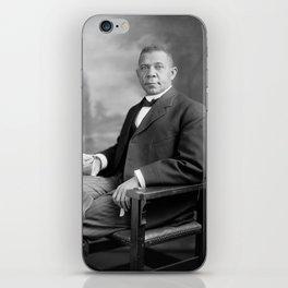 Booker T Washington iPhone Skin