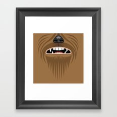 Chewbacca - Starwars Framed Art Print