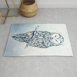 Snow Owl Rug