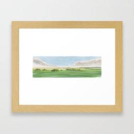 Prairie Lands Framed Art Print