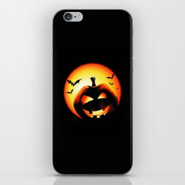 Smile Of Scary Pumpkin iPhone Skin