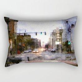 A Street in Cambridge Rectangular Pillow