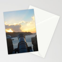 Cannon at Dawn Stationery Cards