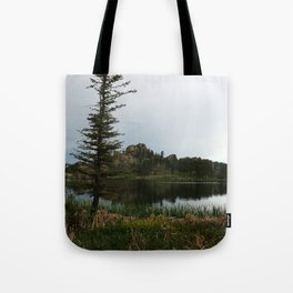 Moody Evening  At Sylvan Lake Tote Bag
