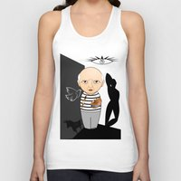 pablo picasso Tank Tops featuring Kokeshi artist Pablo Picasso by Pendientera