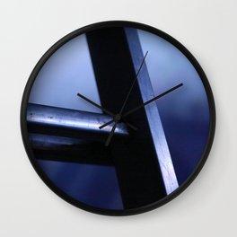 metal ladder Wall Clock
