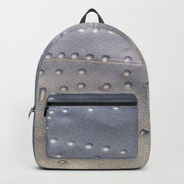 Aluminium Aircraft Skin Texture Backpack