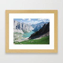 The Holy Lake Framed Art Print