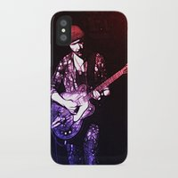 u2 iPhone & iPod Cases featuring U2 / The Edge by JR van Kampen