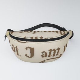 I Solemnly Swear That I'm Up To No Good Fanny Pack