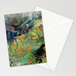 Moog and Mountains Stationery Cards