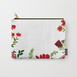 flowers frame Carry-All Pouch