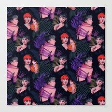 Grimes repeat Canvas Print