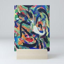 Swirls Mini Art Print