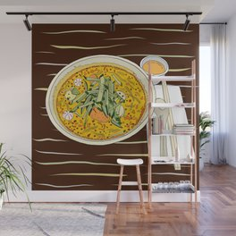 Singapore Laksa Noodle Wall Mural