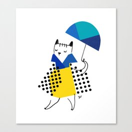 CHIC! A SUNDAY-AFTERNOON STROLL Canvas Print