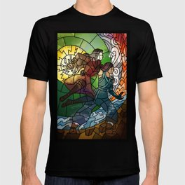 Korrasami - Fighting Duo T-shirt